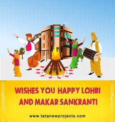 Hope this #Lohri brings you peace, happiness, and prosperity. For More, http://www.tatanewprojects.com/tata-value-homes-noida.htm