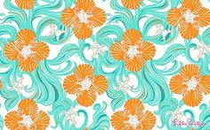 Lilly Wallpaper-nice in florida house
