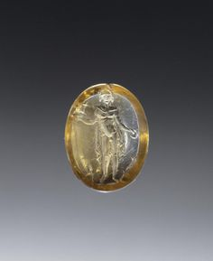 Unknown, Engraved Gem, Roman, 1st century, Citrine