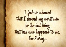 50 I'm Sorry Quotes   Sorry Quotes For Him And Her