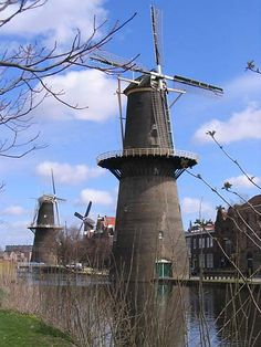 The five tallest windmills of the world! If you love windmills go to Schiedam.