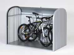 Mülltonnenboxen & Fahrradgarage aus Metall - Biohort