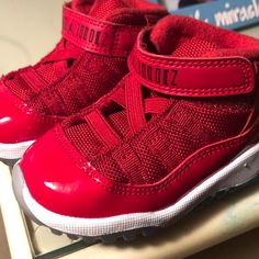 e0890c33b Shop Kids  Jordan Red size Sneakers at a discounted price at Poshmark.