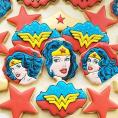 Cupcake Cookies, Sugar Cookies, Cookies Et Biscuits, Superhero Birthday Party, 4th Birthday, Cheap Cookie Cutters, Superhero Cookies, Cookie Games, Royal Icing Transfers