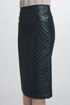 Chloe quilted leather skirt - Fall 2012 Fashion Trends - Fall Wardrobe Essentials - ELLE