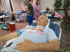 William Nye of Fairborn makes his 44th lifetime donation & votes for the police.