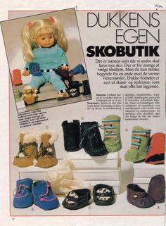 Обувь для куклы - делаем сами