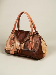 Del Sol Distressed Tote