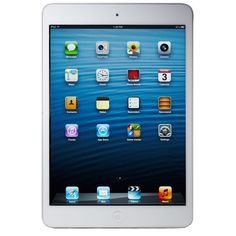 Apple IPad Mini 2 White 16GB Wifi Only Tablet Get yours here http://www.ezonephone.com/
