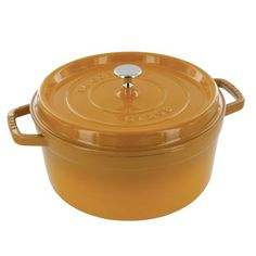 Pin it! :) Follow us :)) CLICK IMAGE TWICE for Pricing and Info :) SEE A LARGER SELECTION of camping coolers at   -  hunting, camping accessories, camping insulated bags, coolers, camping gear, camp supplies - Staub Saffron Round Cast Iron Cocotte, 2.75 Quart « zCamping.com