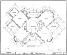 Longwood House In Mississippi Main Floor Plan Idea For Interior Design Pinterest Mansion