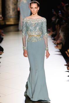 Elie Saab Fall 2012 Couture Fashion Show - Zuzanna Bijoch (Next)