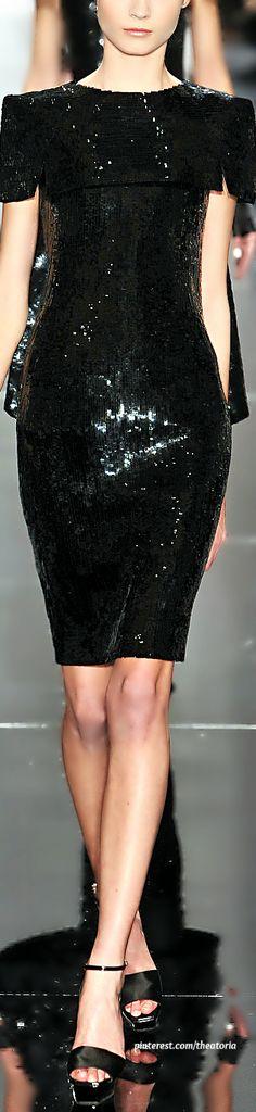 Chanel Haute Couture ~ Black Cocktail Dress