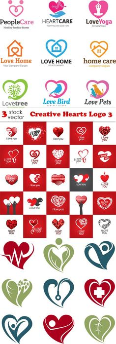 Vectors - Creative Hearts Logo 3
