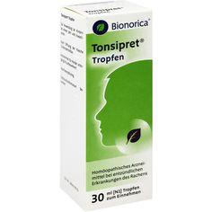 TONSIPRET Tropfen gegen Halsschmerzen:   Packungsinhalt: 30 ml Tropfen PZN: 03525743 Hersteller: Bionorica SE Preis: 6,73 EUR inkl. 19 %…