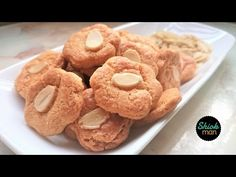 Crunchy Almond Cookies (Santan Biscuits) | Shiokman Recipes