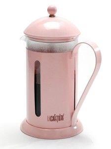 Pink cafetière