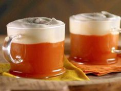 """Bourbon Apple Hot Toddy (Almost Home for Thanksgiving) - Bobby Flay, """"Brunch at Bobby's"""" on the Food Network."""