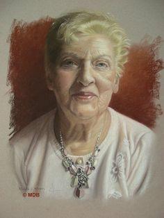 Michèle Duretête-Brodel Pastel Portraits, Figurative Art, Women, Fine Art, Woman