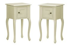 Made to order furniture - Rosalind Ivory Pair of Lamp Tables | Laura Ashley