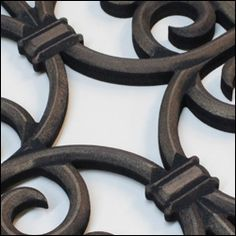 Faux Iron grill Bronze finish Home Interior Design, Bronze Finish, Silver, Leather, Jewelry, Jewlery, Money, Jewels, Jewerly