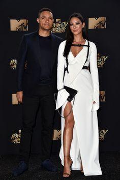 Trevor Noah And Jordyn Taylor Long Sleeve Evening Dresses Trevor Noah Jordyn Taylor