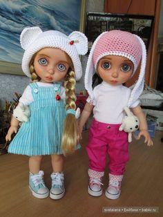 Боня и Буся.ООАК кукол Disney Animators. Рапунцель / Изготовление авторских кукол своими руками, ООАК / Бэйбики. Куклы фото. Одежда для кукол
