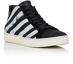 Off-White c/o Virgil Abloh Diagonal-Striped High-Top Sneakers - Sneakers - 504703170