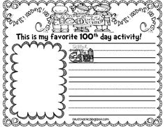 Seusstastic Classroom Inspirations: 100th Day FREEBIE