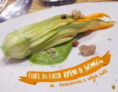Fiore di zucca crudista di Solo Crudo, Roma.  #rawfood #veganfood #food