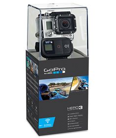 GoPro HD Hero3 Motorsports Black Edition 12MP Waterproof Sports Camera, Cameras