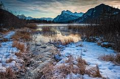 Another icon, and very recognizable mountain is Rundle. Located in Banff, and great views of it from Vermillion Lakes.