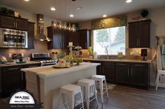 The Willow Floor Design - Kitchen #SEAPACHomes, Premiere #SnohomishCountyBuilder, #NewHomesEverett, #NewHomesBothell #NewHomesSeattle #InteriorDesign #Bathrooms #MasterSuite #Sinks #Toilets #Countertops #HardWoodFloors #MasterBathroom #Kitchens #Bedrooms http://seapachomes.com/available-homes.php