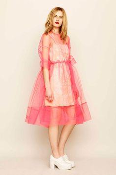 Molly Goddard for ASOS tulle dress Runway Fashion, High Fashion, Womens Fashion, Fashion Trends, Asos Fashion, Tulle Dress, Dress Up, Smock Dress, Mesh Dress