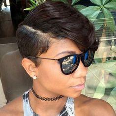Black Women Short Hairstyles 39 Everyday Short Hairstyles For Black Women  Pinterest  Short