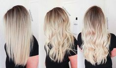 cool Sunkissed Hair   Smudge Roots and Sombre Balayage Highlights Cabello Check more at http://pinfashion.top/pin/38065/