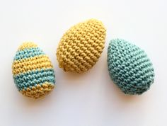 one sheepish girl: Crochet Eggs for Gathered by Mollie Makes