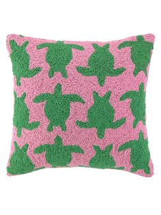 Turtle Stampede Hook Pillow by PHI at Gilt