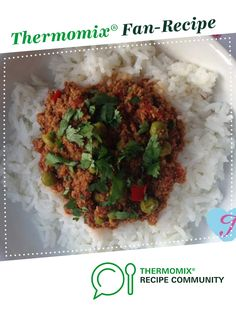 Coriander Beef Mince by Thermolina. A Thermomix ® recipe in the category Main dishes - meat on www.recipecommunity.com.au, the Thermomix ® Community.