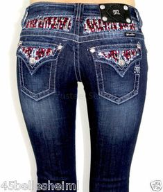 Ruby Waterfall Miss Me Jeans