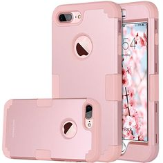 11895c8061 Heavy Duty Slim Shockproof Rubber Full Cover Case Cover for iPhone 6 7 8  Plus