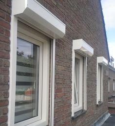 Kunststof kozijnen geplaatst door Riant Kozijnen. #kunststofkozijnen #kozijnen #riantkozijnen Ramen, Windows, Window