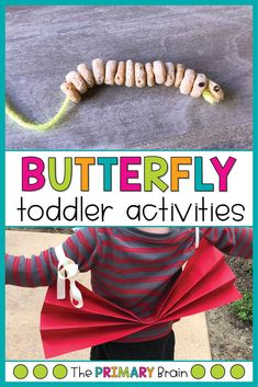 Spring is in the air, which means it is the perfect time to share our Toddler School Butterfly Unit with you all! We loved this unit because we were able to relate the butterfly activities to live butterflies that we saw outside. Back To School Art, Back To School Crafts, Project Based Learning, Fun Learning, Literacy Activities, Preschool Activities, Early Childhood Activities, Lesson Plans For Toddlers, Toddler School