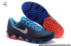 Chaussures Nike Air Max Tailwind 6 Hommes Chaussures Ocean Bleu Blanc