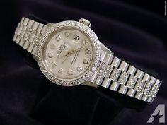Rolex Datejust Diamond President