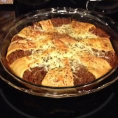 Italian Crescent Casserole  http://cookeatshare.com/recipes/italian-crescent-casserole-609402