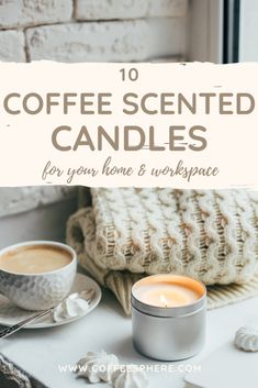 As you're staying at home or if you work from home, keep your space peaceful with one of these coffee scented candles. Light it in the morning to enhance the smell of your morning cup and keep that scent going throughout the day.