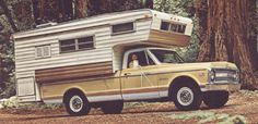 gmc pickup 1972 with over head camper | As I rolled off the Chevrolet lot, the salesman parted with the words ...