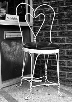 Vintage Ice Cream Parlor Chair Doc Had This Type Of Chair In His Pharmacy  Soda Fountain