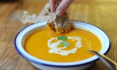 carrot, cardamom and orange spiced soup & other recipes featuring oranges